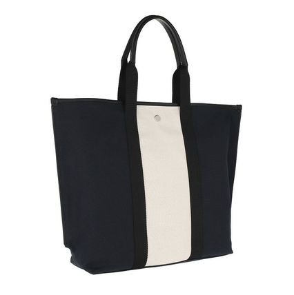 Casual Style Unisex Canvas Street Style A4 Leather