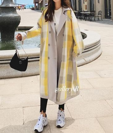 Casual Style Street Style Long Elegant Style Formal Style