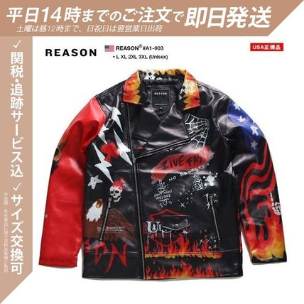 REASON Short Skull Heart Flower Patterns Star Unisex Faux Fur