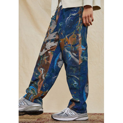 JADED LONDON More Jeans Printed Pants Denim Street Style Cotton Oversized Jeans 3