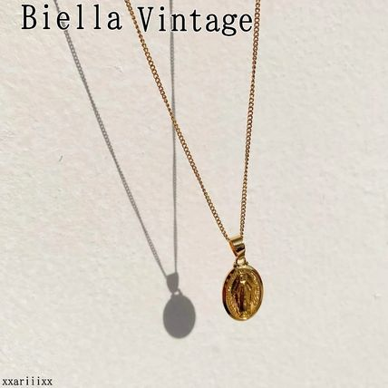 Casual Style Coin Chain Street Style 18K Gold