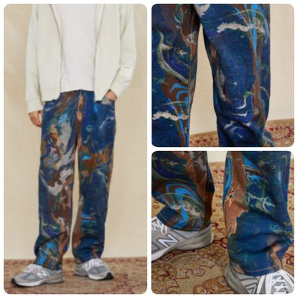 JADED LONDON More Jeans Printed Pants Denim Street Style Cotton Jeans 3