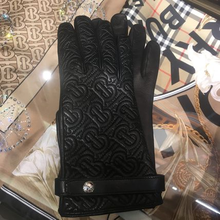 Burberry Monogram Logo Gloves Gloves