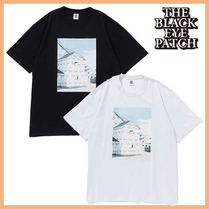 BlackEyePatch More T-Shirts Unisex Street Style Plain Cotton Short Sleeves Oversized