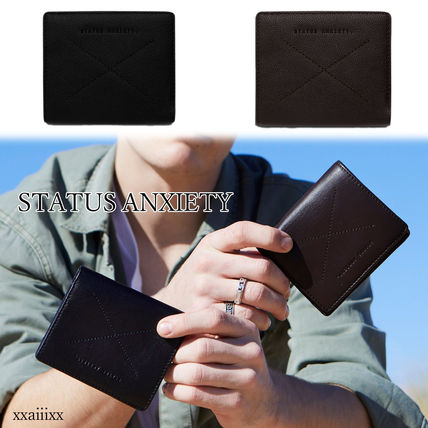 Plain Leather Folding Wallet Folding Wallets