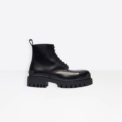BALENCIAGA Strike Lace-Up Boot