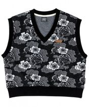 runningHIGH Flower Patterns Casual Style Street Style Vests