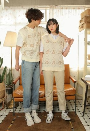 Casual Style Unisex Street Style Other Animal Patterns