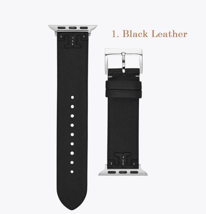 Tory Burch MCGRAW Casual Style Leather Formal Style  Apple Watch Belt Watches