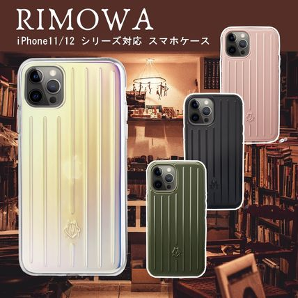 RIMOWA Unisex Plain Logo iPhone 11 Pro Smart Phone Cases
