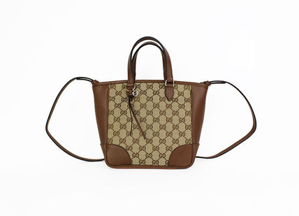 GUCCI Formal Style  Casual Style Calfskin Leather Office Style