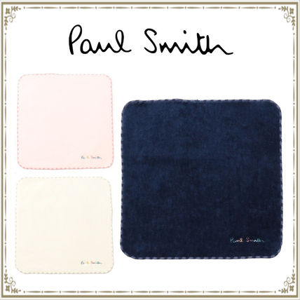 Paul Smith Cotton Logo Handkerchief