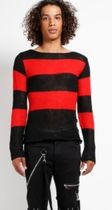 TRIPP NYC Sweaters Pullovers Stripes Unisex Street Style Long Sleeves Sweaters 4