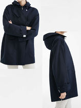 Diffusione Tessile Casual Style Plain Office Style Trench Coats