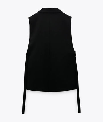 ZARA Casual Style Plain Formal Style  Vests