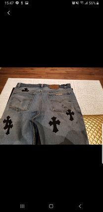 CHROME HEARTS More Jeans Collaboration Jeans 3