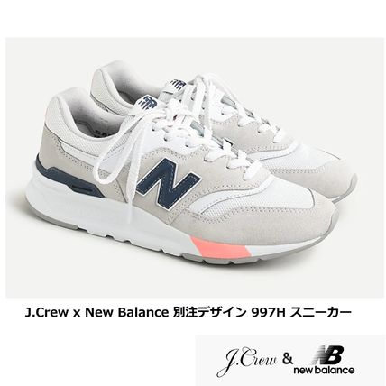 Rubber Sole Casual Style Collaboration Plain