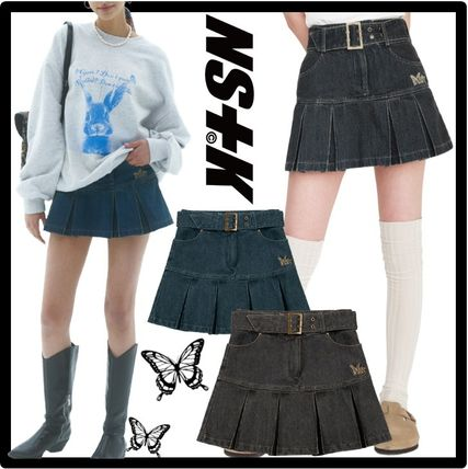 NASTY FANCY CLUB Street Style Mini Skirts