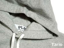 PLAY COMME des GARCONS Hoodies Pullovers Heart Street Style Collaboration Long Sleeves 4
