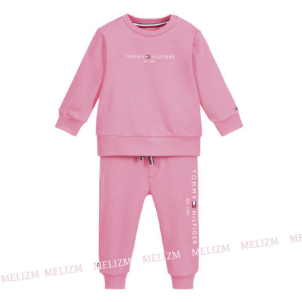 Tommy Hilfiger Co-ord Unisex Organic Cotton Baby Girl Tops