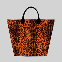 gilsonmartins Shoppers Leopard Patterns Tropical Patterns Unisex A4 2WAY 7