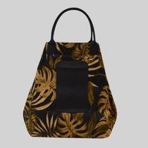 gilsonmartins Shoppers Leopard Patterns Tropical Patterns Unisex A4 2WAY 17