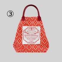 gilsonmartins Shoppers Tropical Patterns Unisex A4 2WAY PVC Clothing Logo Shoppers 6
