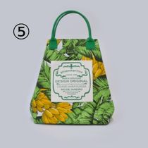 gilsonmartins Shoppers Tropical Patterns Unisex A4 2WAY PVC Clothing Logo Shoppers 8