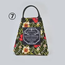 gilsonmartins Shoppers Tropical Patterns Unisex A4 2WAY PVC Clothing Logo Shoppers 10
