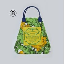 gilsonmartins Shoppers Tropical Patterns Unisex A4 2WAY PVC Clothing Logo Shoppers 11