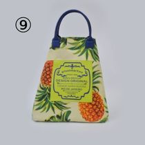 gilsonmartins Shoppers Tropical Patterns Unisex A4 2WAY PVC Clothing Logo Shoppers 12
