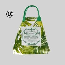 gilsonmartins Shoppers Tropical Patterns Unisex A4 2WAY PVC Clothing Logo Shoppers 13