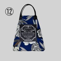 gilsonmartins Shoppers Tropical Patterns Unisex A4 2WAY PVC Clothing Logo Shoppers 15