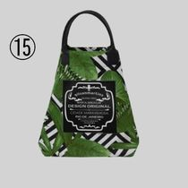 gilsonmartins Shoppers Tropical Patterns Unisex A4 2WAY PVC Clothing Logo Shoppers 18