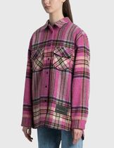 We11Done Other Plaid Patterns Casual Style Wool Street Style