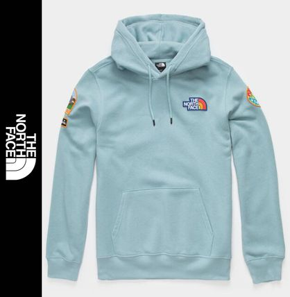 THE NORTH FACE Sweat Street Style Long Sleeves Logo Outdoor Hoodies