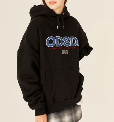 Street Style Long Sleeves Cotton Logo Hoodies & Sweatshirts