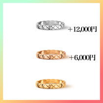 CHANEL Casual Style Unisex Party Style 18K Gold Office Style