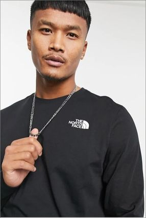 THE NORTH FACE Long Sleeve Crew Neck Long Sleeves Long Sleeve T-shirt Logo Outdoor 3