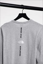 THE NORTH FACE Long Sleeve Crew Neck Long Sleeves Long Sleeve T-shirt Logo Outdoor 10