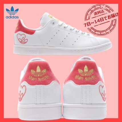 adidas STAN SMITH Logo Unisex Street Style Low-Top Sneakers