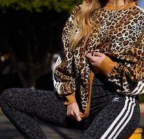 adidas Printed Pants Stripes Other Plaid Patterns Leopard Patterns