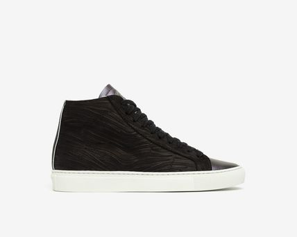 P448 Logo Casual Style Leather Low-Top Sneakers