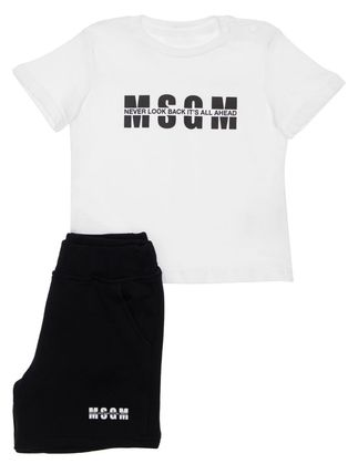 MSGM Co-ord Unisex Street Style Baby Girl Tops