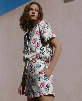 Dots Co-ord Front Button Lounge & Sleepwear