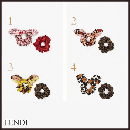 FENDI Party Style Elegant Style Hair Accessories
