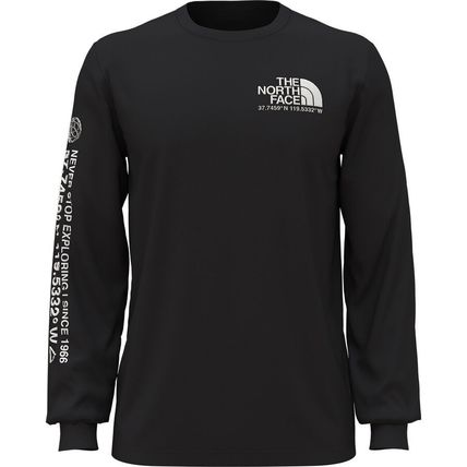 THE NORTH FACE Long Sleeve Street Style Long Sleeves Cotton Long Sleeve T-shirt Logo 2