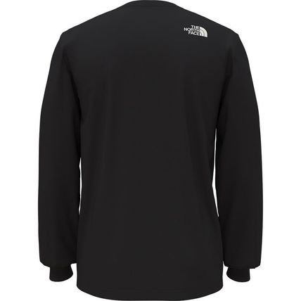THE NORTH FACE Long Sleeve Street Style Long Sleeves Cotton Long Sleeve T-shirt Logo 3