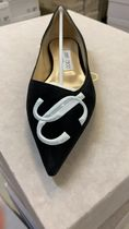 Jimmy Choo Casual Style Bi-color Leather Party Style Office Style