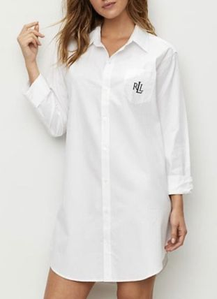 Ralph Lauren Logo Plain Cotton Lounge & Sleepwear